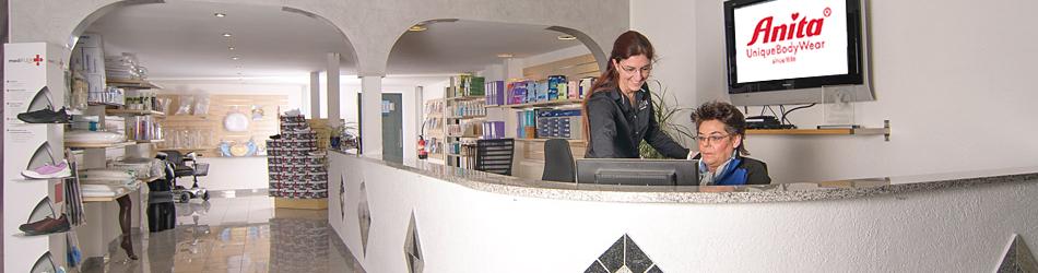 Sanitätshaus Fachverkäuferinnen