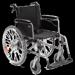 Bauteile eines Rollstuhls