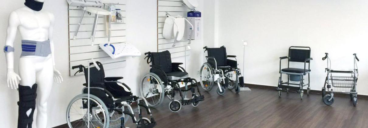 Rollstühle und Rollatoren in Filiale Frankfurt Sachsenhausn