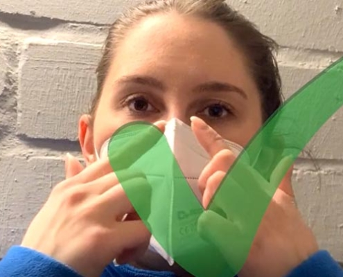 FFP2 Maske richtig tragen